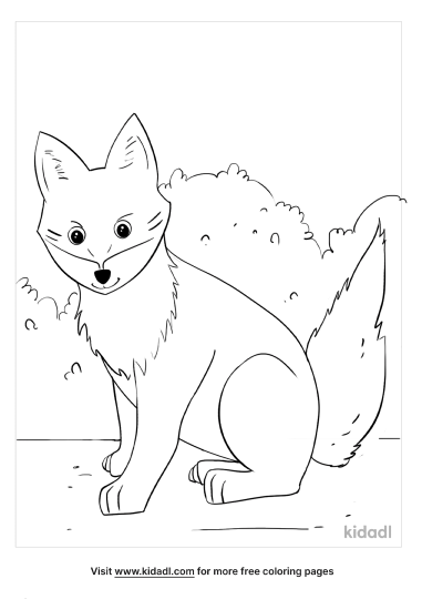 Anime Animal Coloring Pages Free Animals Coloring Pages Kidadl