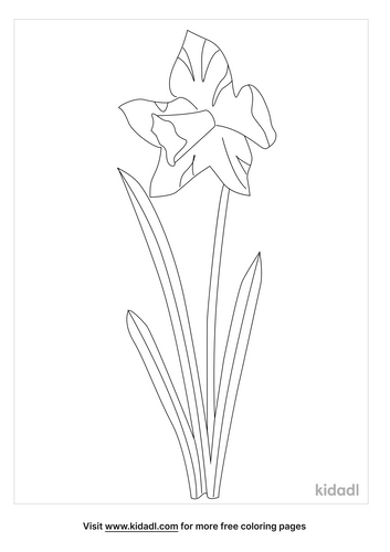 Spring Flowers Coloring Pages Free Flowers Coloring Pages Kidadl